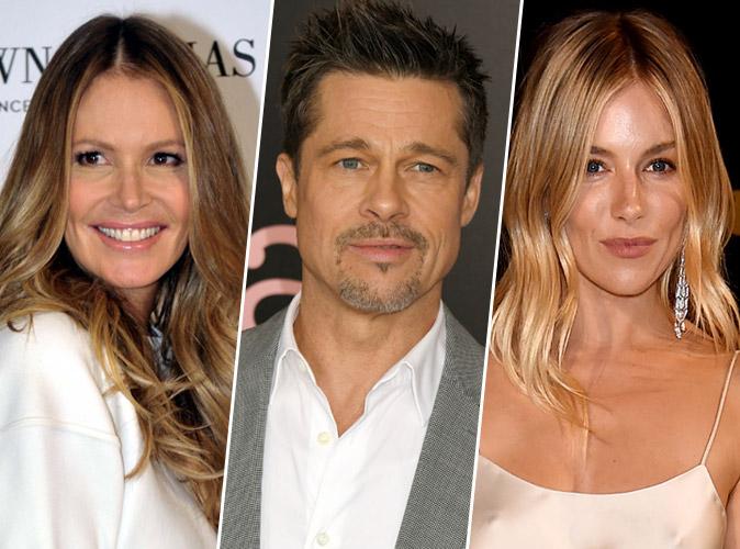 Brad Pitt en couple avec Elle MacPherson ? Impossible, le beau gosse traine toujours avec Sienna Miller !