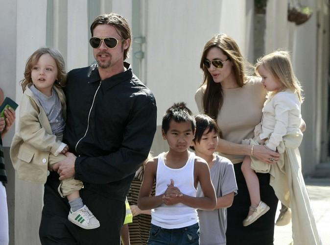 Brad Pitt et Angelina Jolie : Ils dépenseraient 10 millions de dollars par an pour leurs enfants !