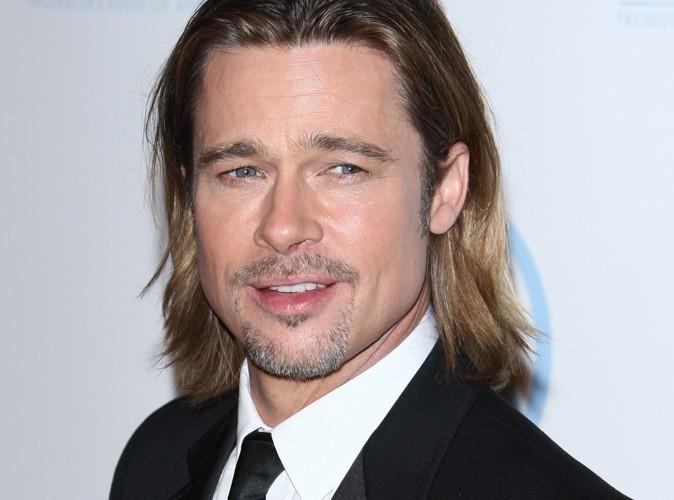 Brad Pitt : il fête sa nomination aux Oscars d'une façon très gourmande…