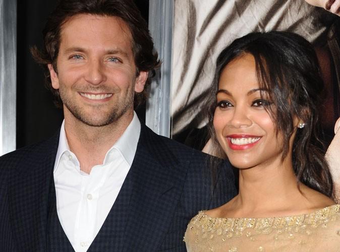 Bradley Cooper et Zoe Saldana : à nouveau séparés ?!