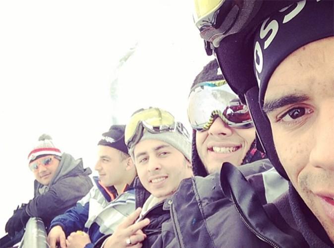 Brahim Zaibat : comme son ex Madonna, il démarre l'année au ski !