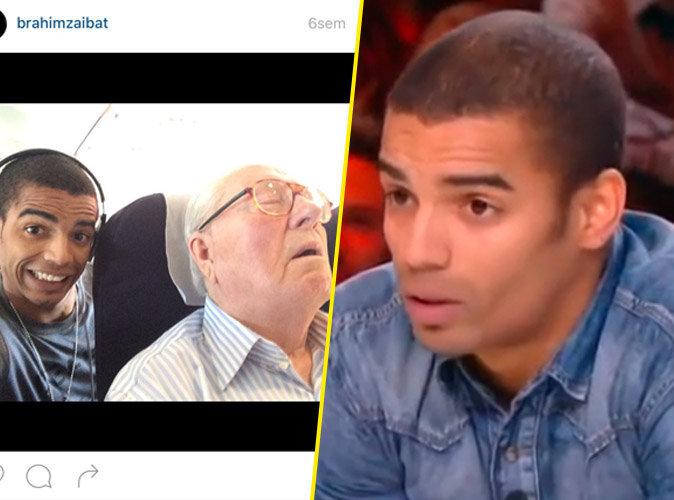 Brahim Zaibat : il s'exprime enfin sur sa fameuse photo avec Le Pen !