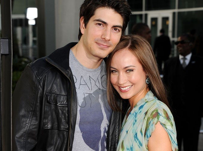 Brandon Routh : Superman papa d'un petit garçon !