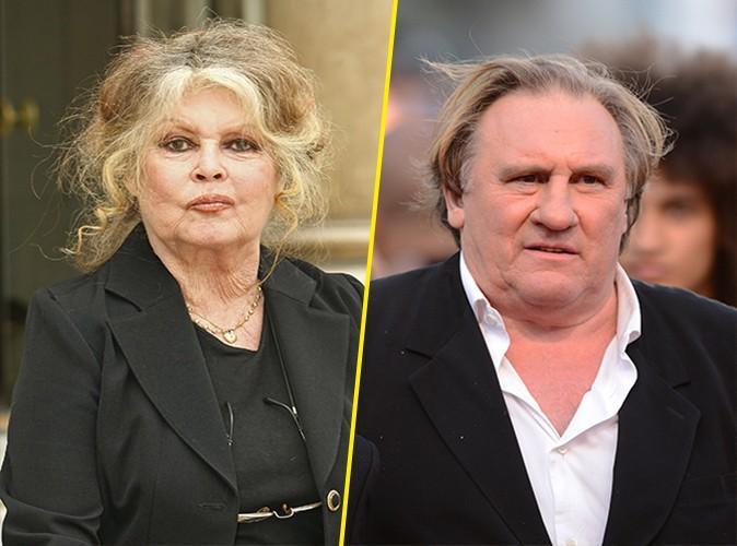 """Brigitte Bardot évoque Gérard Depardieu : """"Il ferait peur à un régiment de sauvages !"""""""