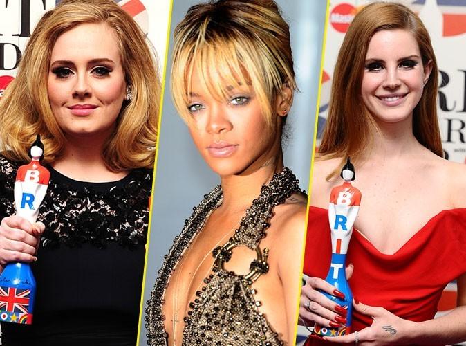 Brit Awards 2012 : Adele, Rihanna, Lana Del Rey récompensées : le palmarès complet !