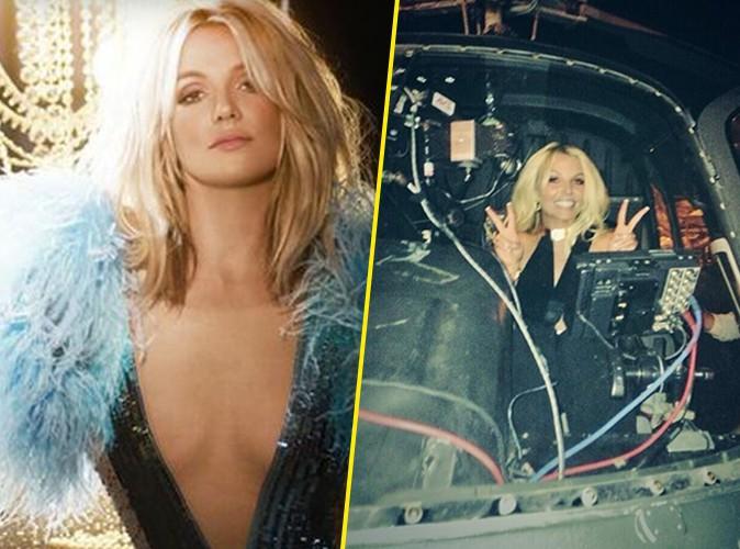 Britney Spears : des milliers de fans réunis dans le désert pour la voir débarquer en hélicoptère !