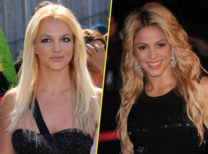 """Britney Spears et Shakira : les deux princesses du """"hit parade"""" !"""