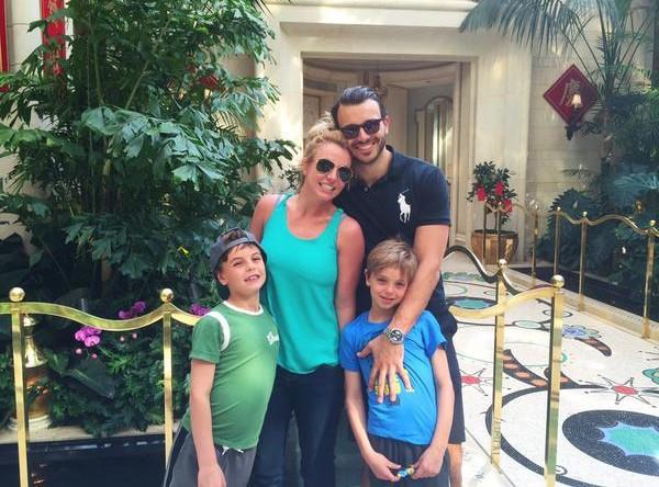 Britney Spears : heureuse et épanouie en famille !