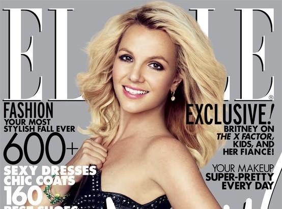 Britney Spears : tellement heureuse de faire la une de Elle !
