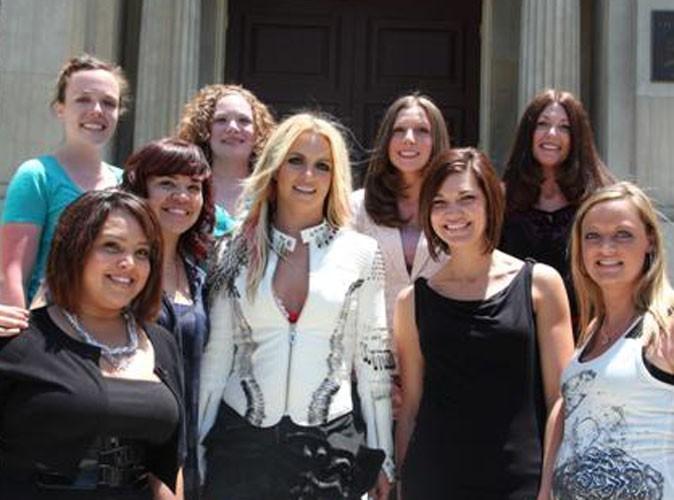 Britney Spears : tendance rock sur le tournage de son prochain clip !