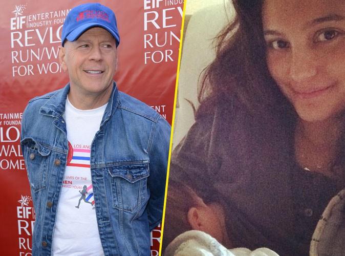 Bruce Willis : sa femme Emma vous présente leur petite Evelyn !
