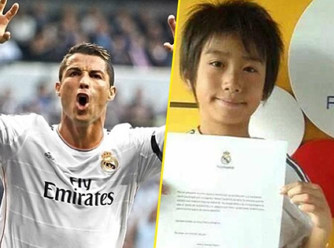 Buzz : Le Real Madrid recrute la relève de Cristiano Ronaldo ... Il a 9 ans !
