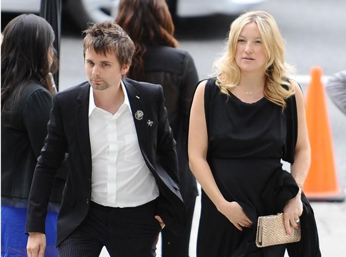 Ça y est... On connait enfin le prénom du bébé de Kate Hudson et Matthew Bellamy !