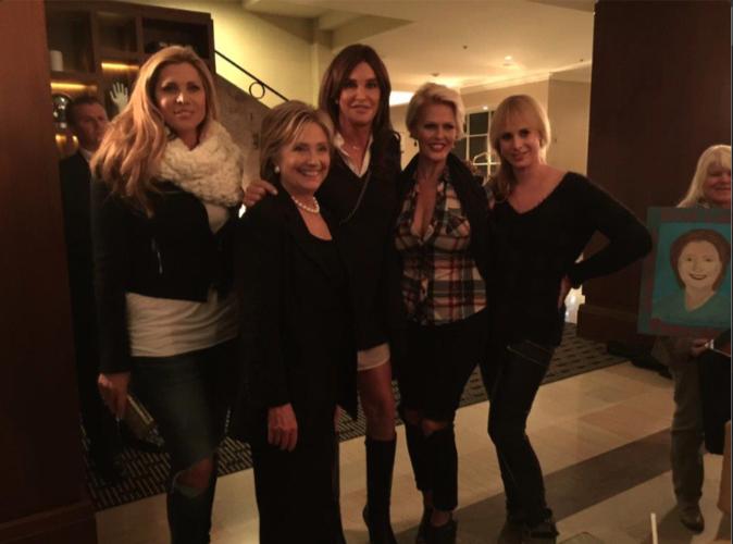 Caitlyn Jenner : Elle clash Hilary Clinton... qui rapplique!