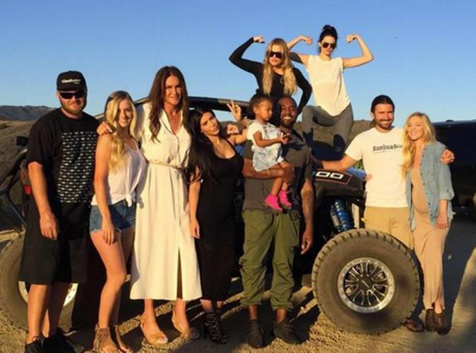 Caitlyn Jenner : première photo de famille pour la fête des pères !