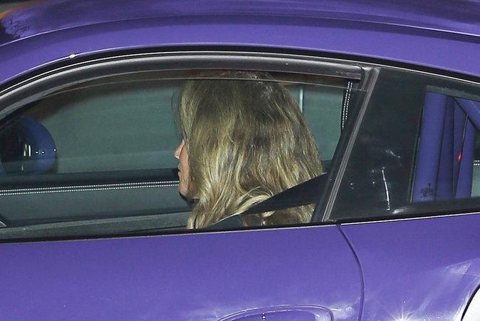 Caitlyn Jenner à la sortie du restaurant le Nobu à Los Angeles