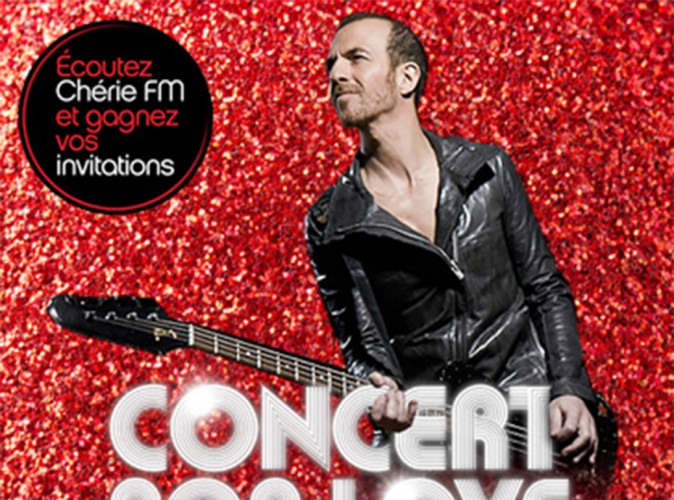 Calogero : il vous invite en concert privé avec Chérie FM !