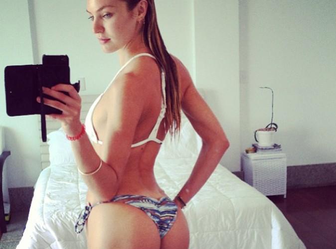 Candice Swanepoel dévoile son joli fessier sur Instagram !