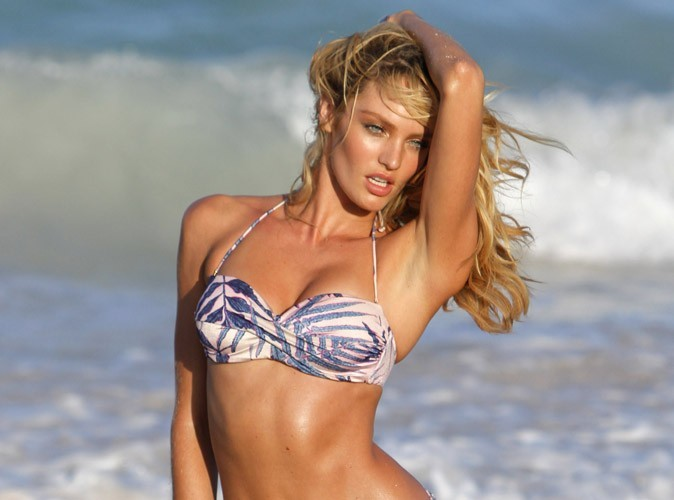 Candice Swanepoel : trop dur son shooting sexy à St Barth...