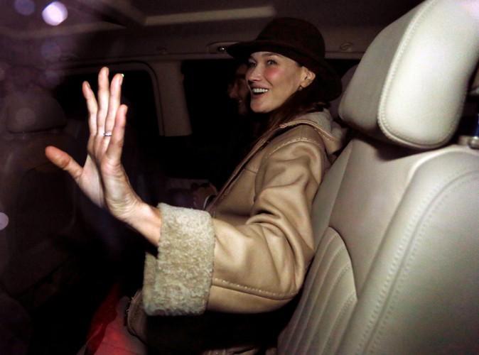 """Carla Bruni à propos de l'affaire Hollande-Gayet : """"Je ne veux pas faire partie de la meute !"""""""