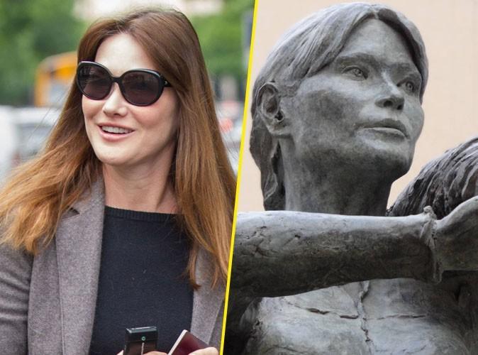 Carla Bruni : une statue à son effigie !