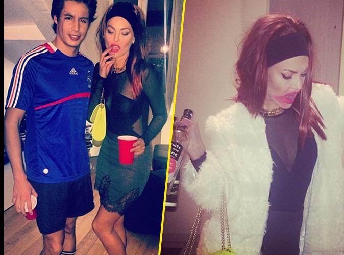 Caroline Receveur : elle se déguise en Zahia quand son chéri se la joue Ribéry !