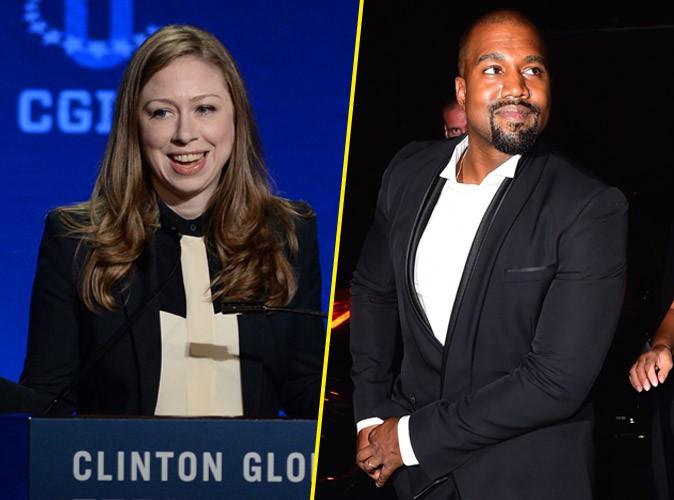 """Chelsea Clinton : Kanye West président ? """"C'est génial"""" !"""