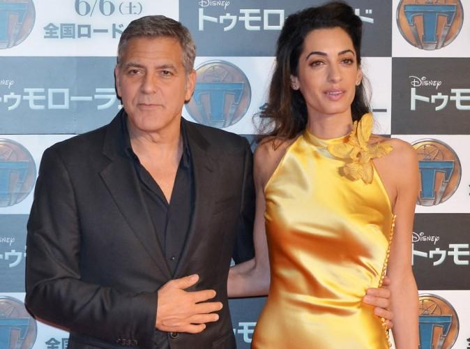 Chez les Clooney, c'est madame qui porte la culotte !