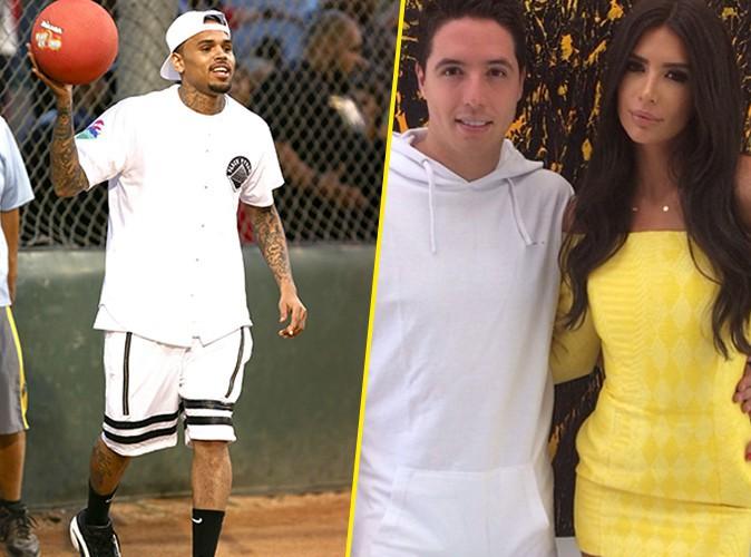 Chris Brown : inséparable de Samir Nasri ?