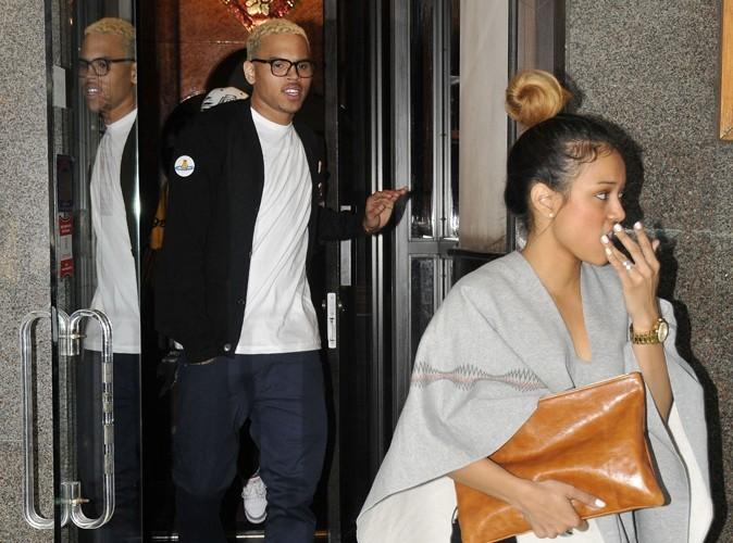 Chris Brown : sa chérie Karrueche a peur des fans de Rihanna !
