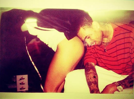 Chris Brown : une photo sacrément culottée !