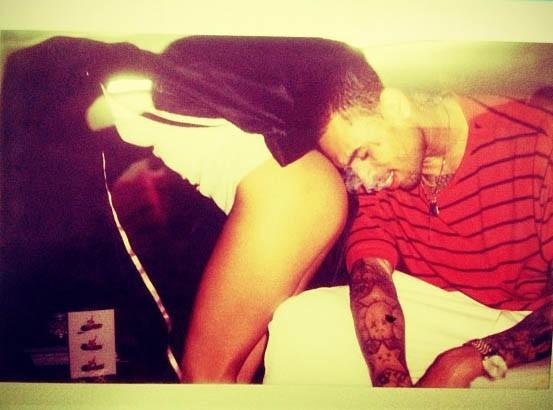 Chris Brown : une photo sacrément culottée !