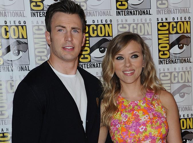 Chris Evans : il confirme la grossesse de Scarlett Johansson !