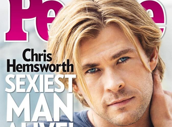 Chris Hemsworth : élu homme le plus sexy de 2014 !
