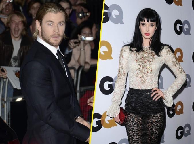 Chris Hemsworth et Krysten Ritter : les deux héros de 50 nuances de Grey ?