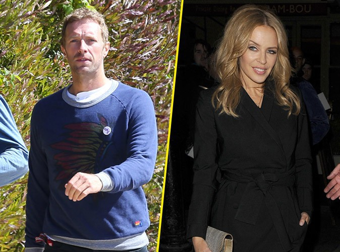 Chris Martin : bye bye Jennifer Lawrence, bonjour Kylie Minogue !