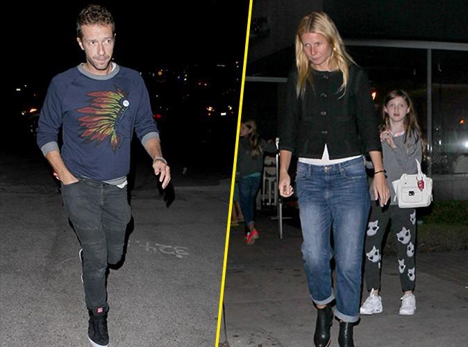 Chris Martin : il dîne avec Gwyneth Paltrow, qui se veut très tendre en fin de soirée !