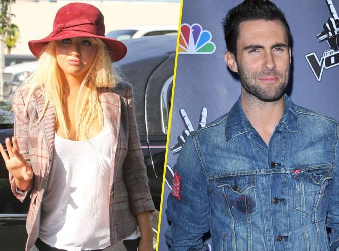 Christina Aguilera et Adam Levine : c'est chaud sur le tournage de leur duo, Moves Like Jagger !