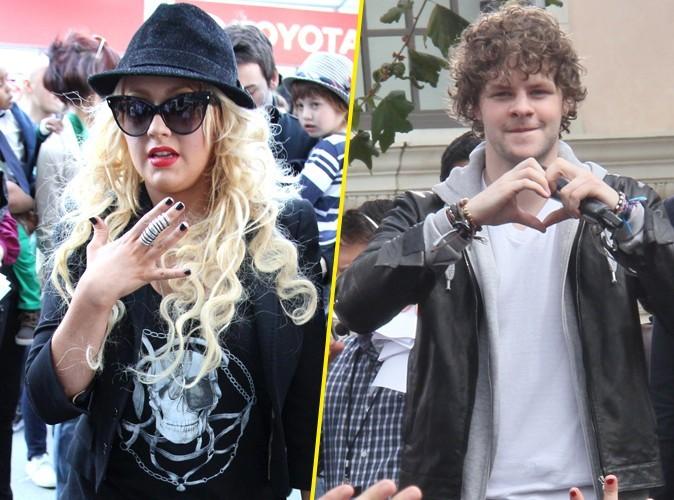 Christina Aguilera : les garçons de The Wanted la traitent de salo** !