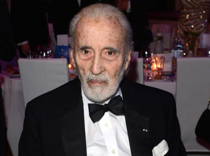 """Christopher Lee, figure incontournable du """"Seigneur des anneaux"""", est décédé à l'âge de 93 ans..."""