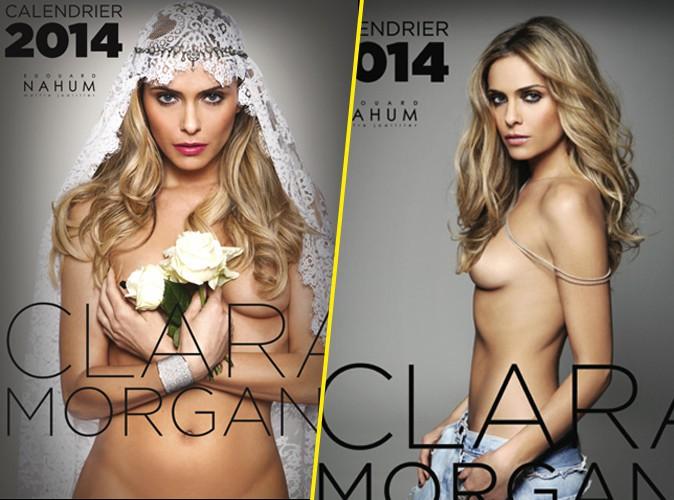 Clara Morgane : elle a besoin de vous pour choisir la couverture de son calendrier sexy !