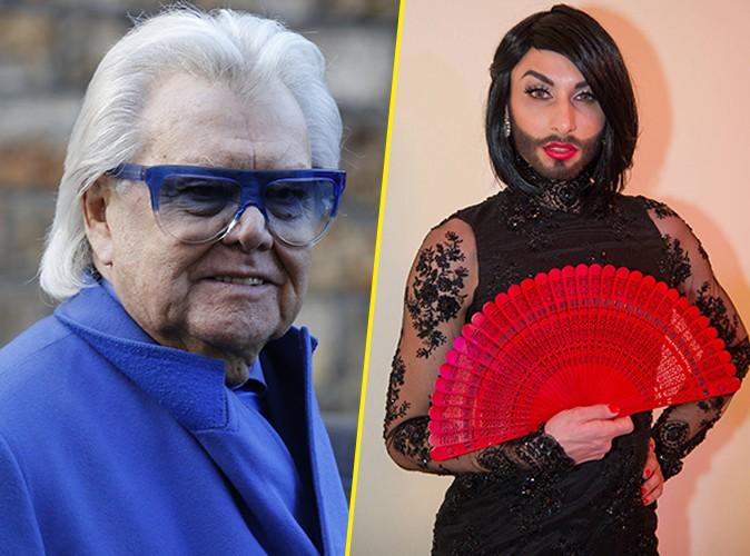 """Conchita Wurst : clashée par Michou : """"C'est se foutre de la gueule des travestis !"""""""