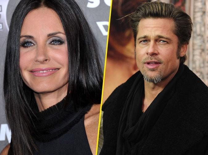 Courteney Cox a passé la soirée avec Brad Pitt !