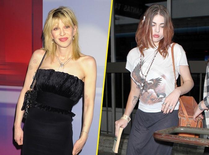 Courtney Love : sa fille Frances, balance un max sur elle !