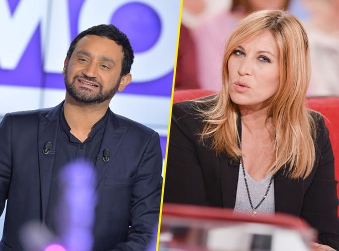 Cyril Hanouna : après le lapin de Mathilde Seigner, il la tacle gentiment !