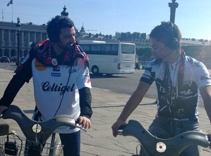 Cyril Hanouna : lui aussi fête la victoire de Guingamp en Coupe de France… à sa façon !