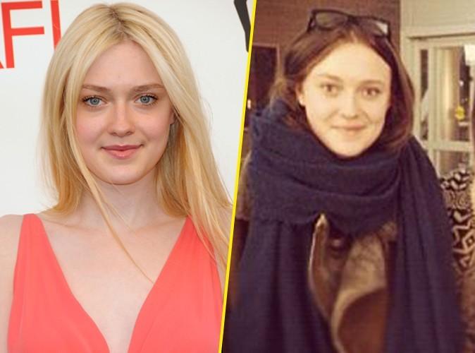 Dakota Fanning : la petite blondinette est devenue brune !