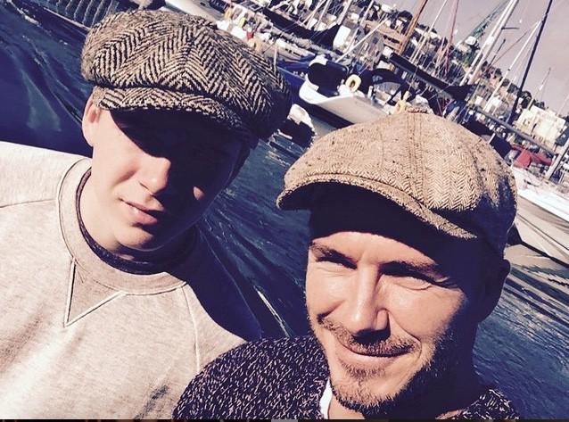 David Beckham : Avec Brooklyn, ils se la jouent tel père tel fils !