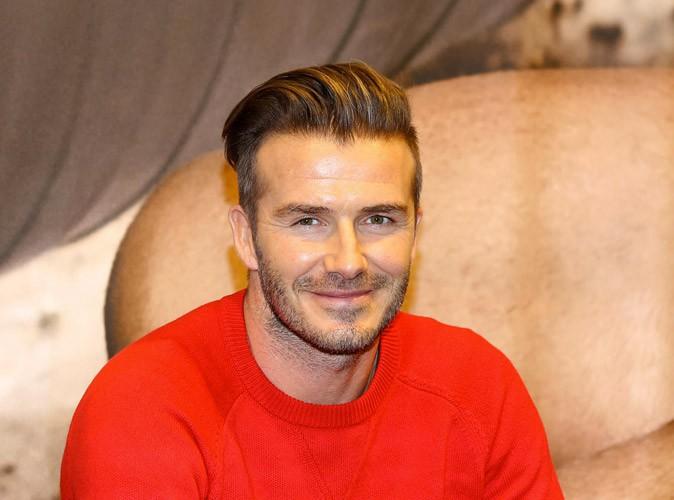 David Beckham : découvrez sa drôle de façon d'évacuer son stress !