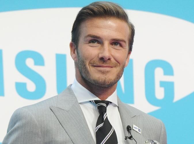 David Beckham heureux de pouvoir nourrir sa fille !